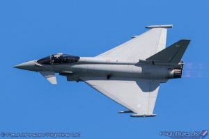 NEWS: Typhoon begins line-up for Wales Airshow