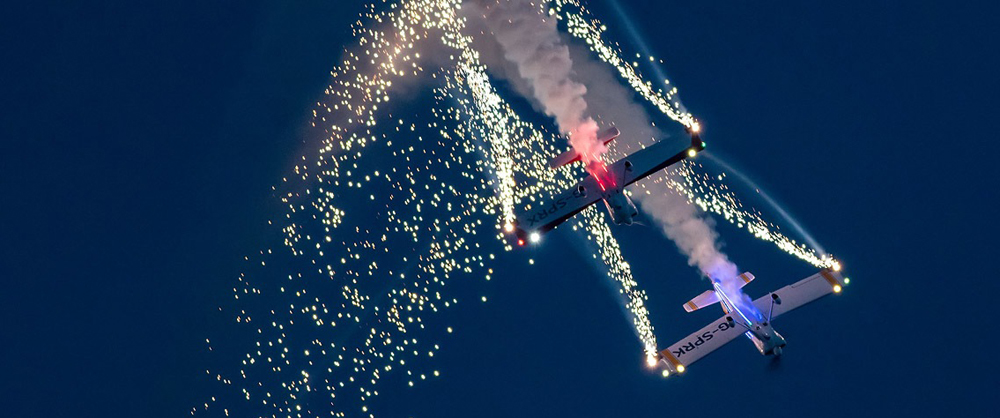 Air Display Management for Special Events