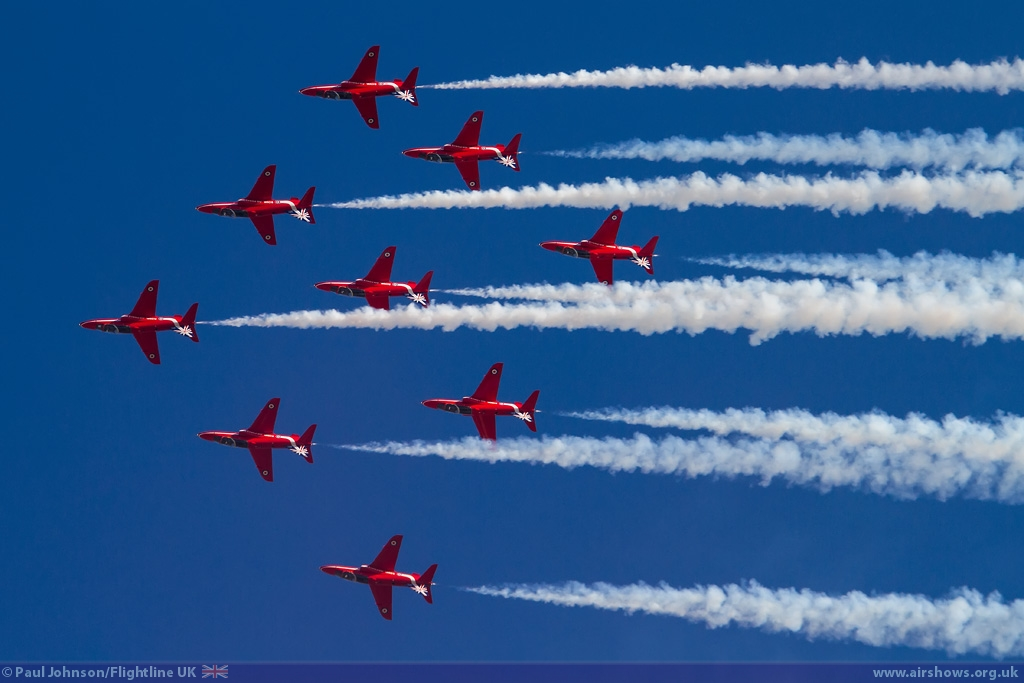 NEWS: Red Arrows flying both days of Clacton Airshow 2015