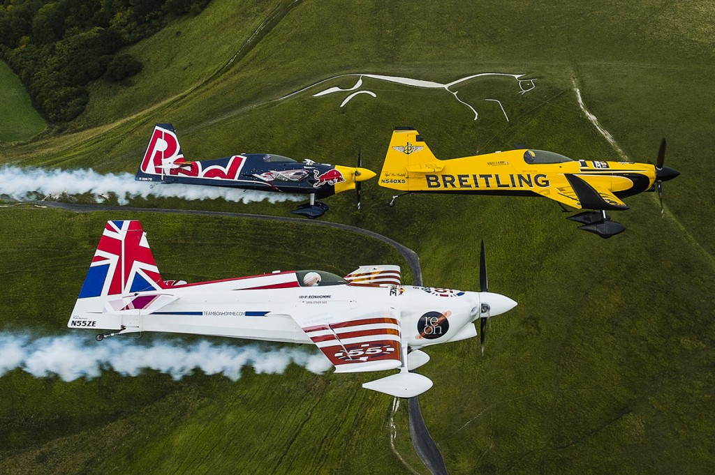 Nigel Lamb (GBR), Paul Bonhomme (GBR) and Peter Besenyei (HUN) - Recon Flight - Armin Walcher / Red Bull Content Pool