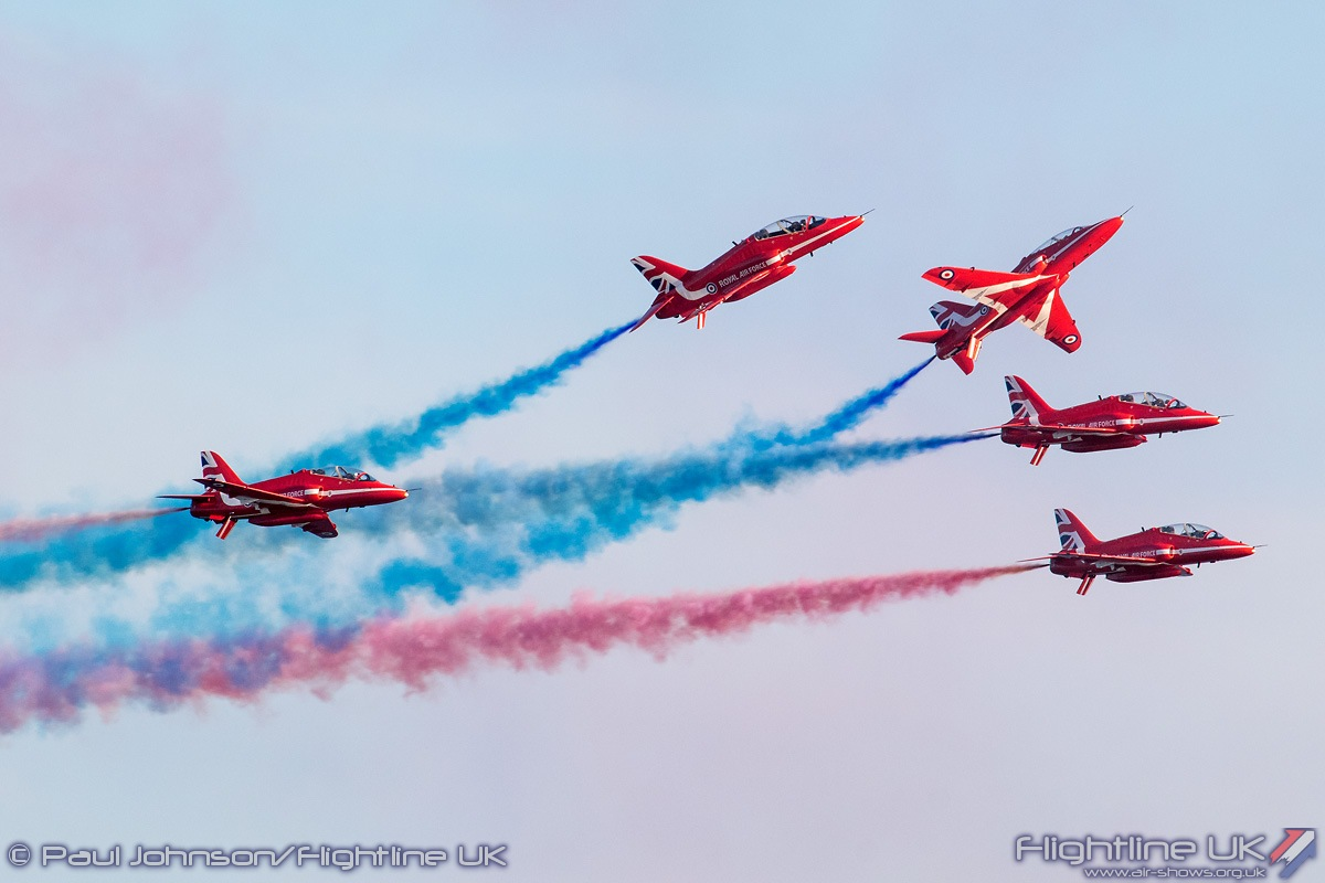 NEWS: Red Arrows to return for both days of Clacton Airshow 2018
