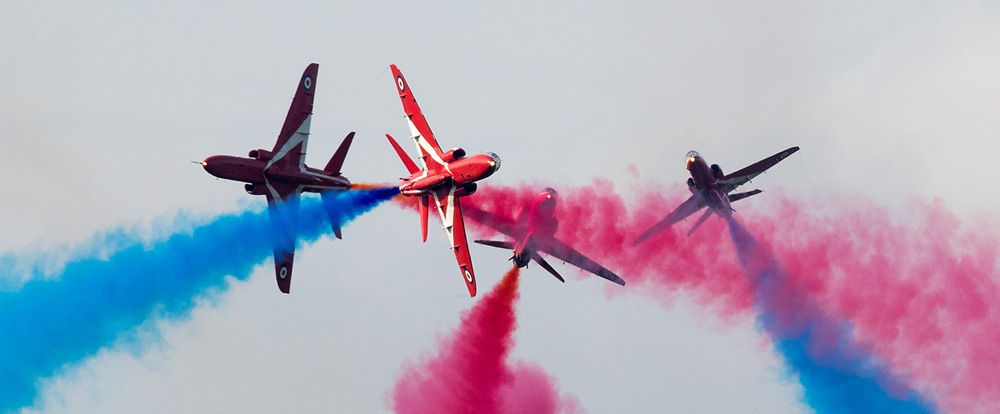 NEWS: Red Arrows confirmed to headline Haven Great Yarmouth Air Show