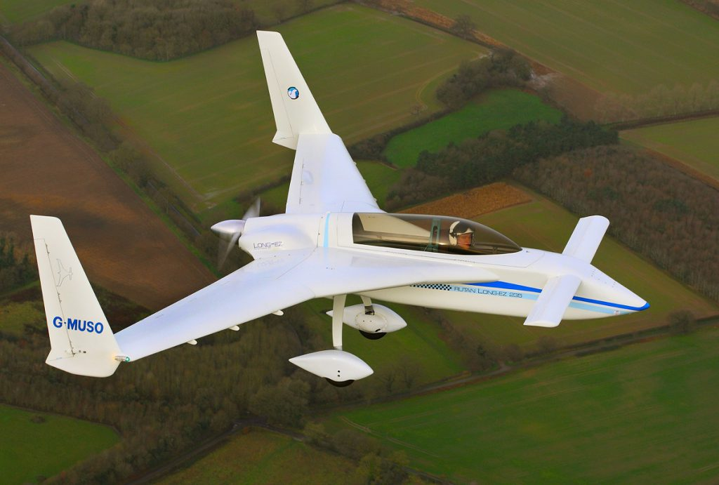 Rutan Long-EZ - Image by Mike Page