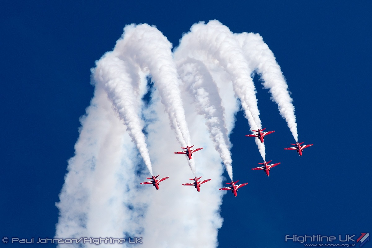 NEWS: RAF Red Arrows, BBMF and Typhoon confirmed for Bournemouth Air Festival