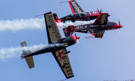 NEWS: Aerobatic display team first flight unveiled for 2019 Clacton Airshow