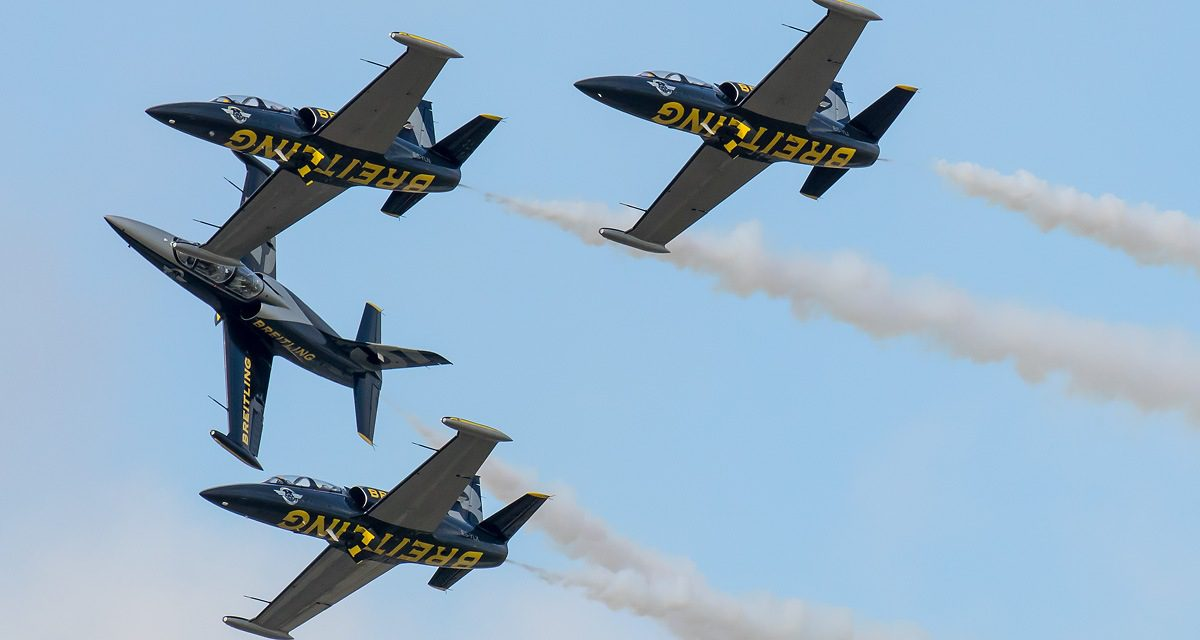 NEWS: Ultimate Warbirds and Breitling Jets Signal Arrival of New Displays at Eastbourne Airshow